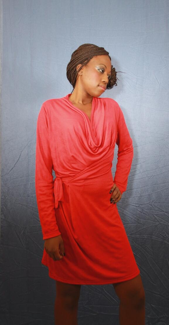 Robe drapee